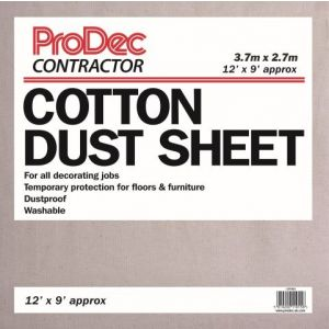 Rodo 12 x 9 Cotton Twill Dust Sheet (Contract)