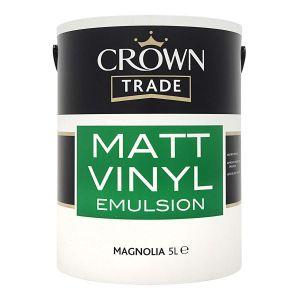 Crown Trade Vinyl Matt Magnolia