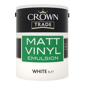 Crown Vinyl Matt (White)
