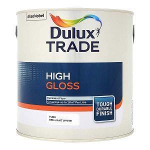 Dulux High Gloss (Pure Brilliant White)