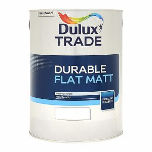 Dulux Trade Durable Flat Matt Colours 5L