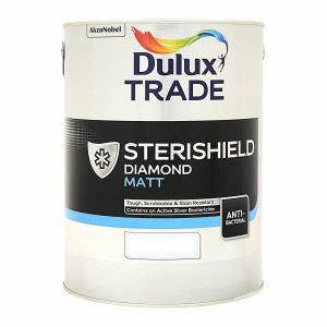 Dulux Trade Sterishield Diamond Matt Colours 5L