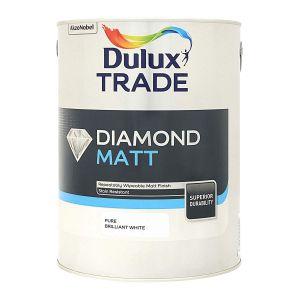 Dulux Diamond Matt Pure Brilliant White