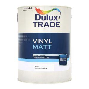 Dulux Trade Vinyl Matt Pure Brilliant White