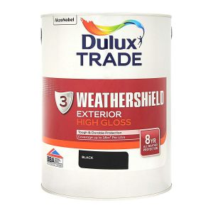 Dulux Trade Exterior Gloss Black