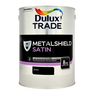 Dulux Metalshield Satin Black