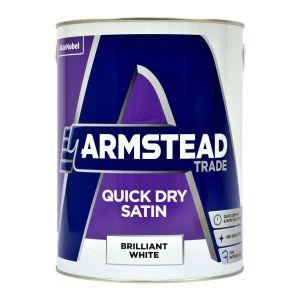 Armstead Quick Dry Satin Brilliant White