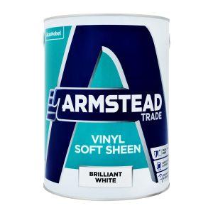 Armstead Vinyl Soft Sheen Brilliant White 5L
