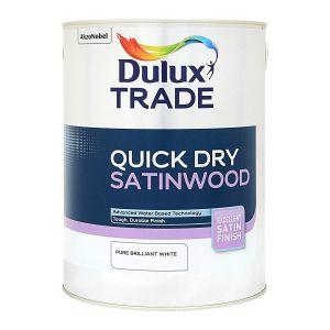 Dulux Trade Quick Dry Satinwood PBW