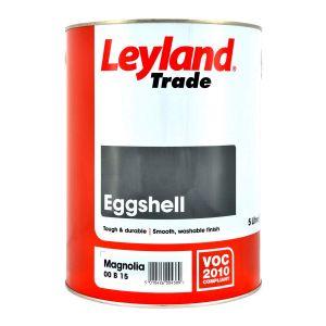 Leyland Eggshell Magnolia 5L