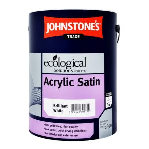Johnstones Acrylic Satin White