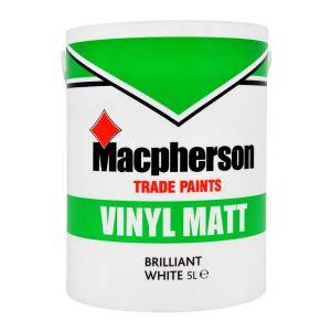 Macpherson Vinyl Matt Brilliant White