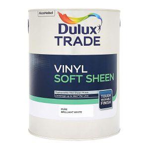 Dulux Vinyl Soft Sheen 5L Pure Brilliant White