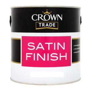 Crown Trade Satin Finish (All Colours)