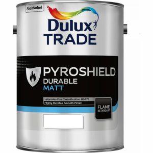 Dulux Trade Pyroshield Durable Matt Colours 5L