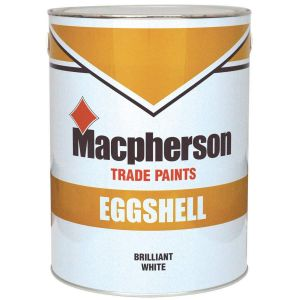 Macpherson Eggshell Brilliant White