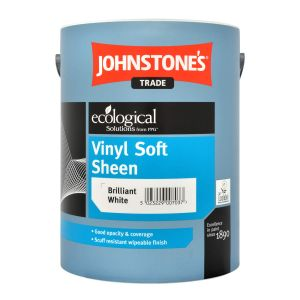Johnstones Vinyl Soft Sheen Brilliant White