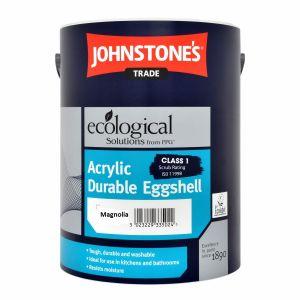 Johnstones Acrylic Eggshell Magnolia 5L