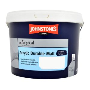Johnstone's Trade Acrylic Durable Matt - Light Colours 10L