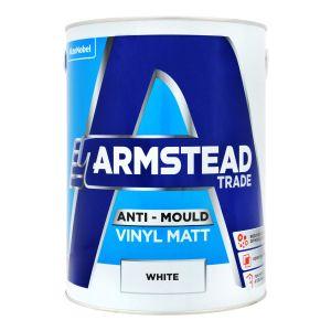 Armstead Anti Mould Vinyl Matt White 5L