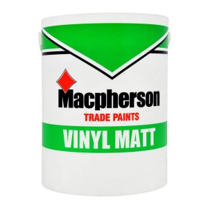 MacPherson Vinyl Matt Black