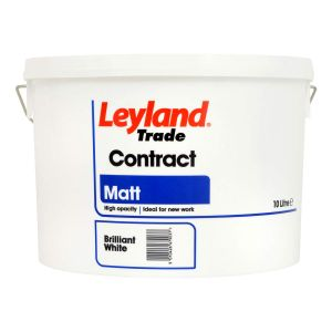 Leyland Contract Matt B/W 10L
