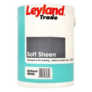 Leyland Vinyl Soft Sheen Brilliant White 5L