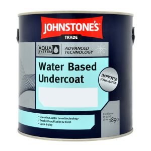 Johnstones Aqua Undercoat  Tinted Colours