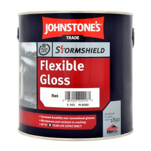 Johnstones Flexible Gloss Black 2.5L