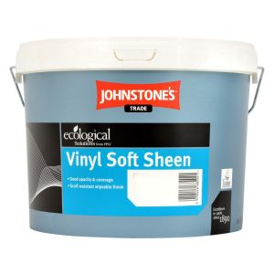 Johnstones Vinyl Soft Sheen Colours 10L