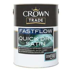 Crown Trade Fastflow Quick Dry Satin (all colours)