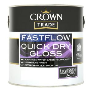 Crown Trade Fastflow Gloss Dark (Colours)