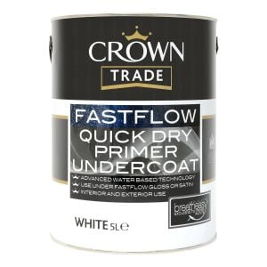 Crown Trade Fastflow Quick Dry Primer Undercoat White