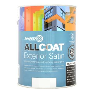 Zinsser Allcoat Exterior Satin SB Colours