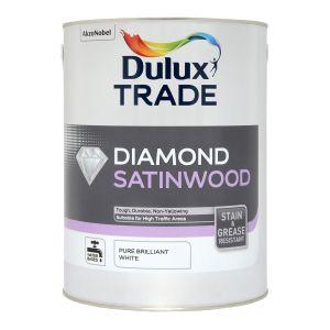 Dulux Trade Diamond Satinwood Pure Brilliant White