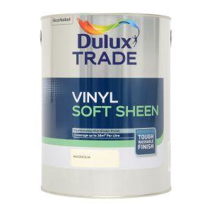 Dulux Trade Vinyl Soft Sheen Magnolia 5L