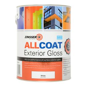 Zinsser Allcoat Exterior WB Gloss White