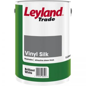 Leyland Vinyl Silk Brilliant White 5L
