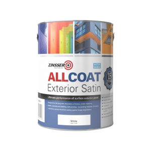 Zinsser Allcoat Exterior Satin WB Colours