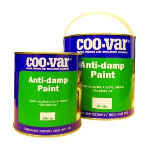 Coo- Var Anti - Damp Paint White