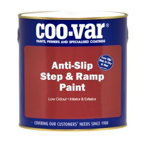 Coo-Var Anti-Slip Step & Ramp Paint