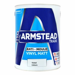 Armstead Anti Mould Vinyl Matt Tinted Colours 5L
