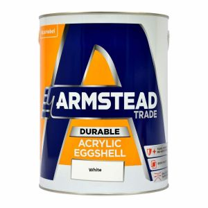 Armstead Durable Acrylic Eggshell - White