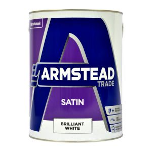 Armstead Satin Brilliant White