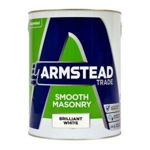 Armstead Smooth Masonry Brilliant White