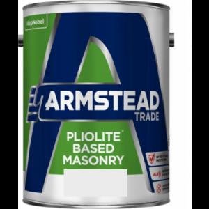 Armstead Pliolite Based Masonry Paint Magnolia 5L
