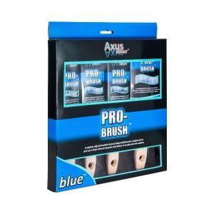 Axus Blue Pro Brush Set (4 PACK)
