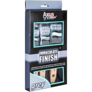 Axus Grey Immaculate Finish Brush Set (3 PACK)
