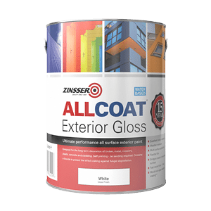 Zinsser Allcoat Exterior WB Gloss Colours
