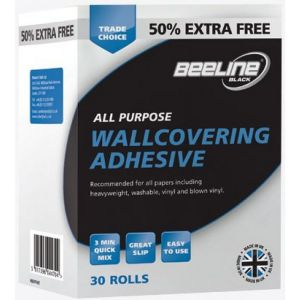 Beeline Wallpaper Adhesive Trade Pack 50% Free (30 Roll)